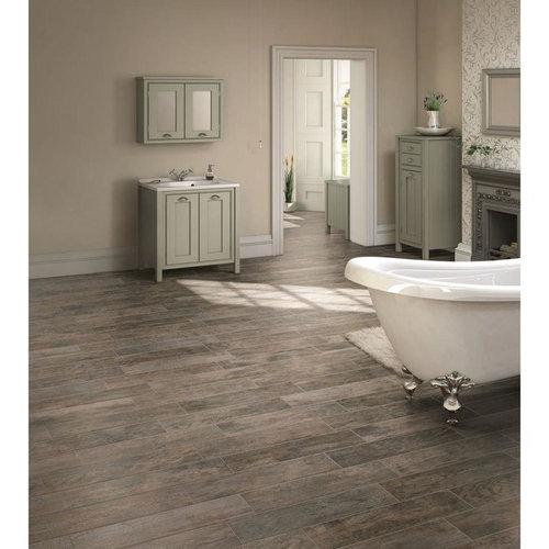 Wood Look Tile And Hardwood On Same Floor