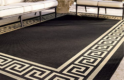 Greek Key Outdoor Rug by Frontgate