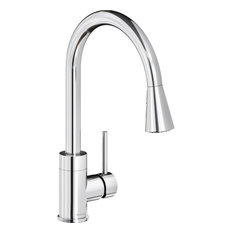 Elkay Avado 1.8 GPM Pullout Spray 1 Hole Kitchen Faucet Chrome, LKAV3031CR