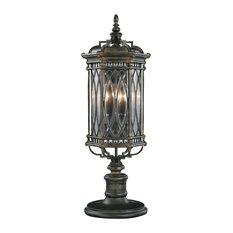 Fine Art Lamps Warwickshire Collection Outdoor Adjustable Pier/Post Mount