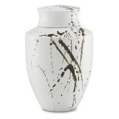 Hinako Jar, Off White, Black