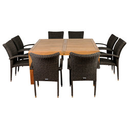 Tropical Outdoor Dining Sets by International Home Miami Corp