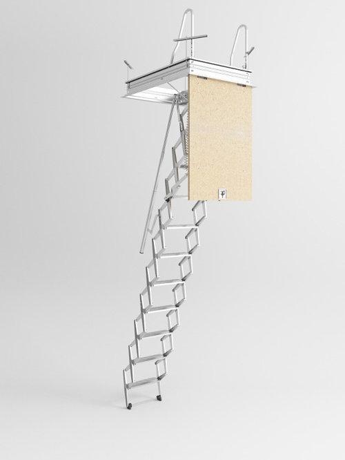 Escalera plegable para altillo fabulous mejor precio - Escalera plegable altillo ...