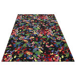 Koeckritz Rugs - Area Rug Paint Splatter, Nylon Stainmaster Carpet, Multi Colored, 12'x12' Square - PAINT SPLATTER Custom Area Rug 100% BCF Stainmaster Nylon Carpet by JOY, Many Shapes and Sizes.