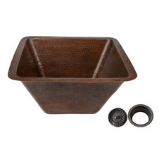 "17"" Copper Sink/Disposal Flange Bundle"