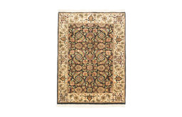 Copy of 2'x3' Herati Handknotted Traditional Small Wool Rug, 2'x3'