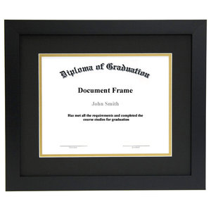 d8eb6fa1415 Diploma and Document Frame with Matting