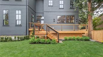 Rustic Contemporary Cabin-like Exterior Design