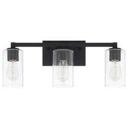Industrial Bathroom Vanity Lighting by Buildcom