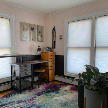 Creating Studio space for a creative jeweler