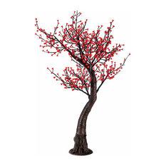 LED Red Cherry Blossom Tree, Red LED
