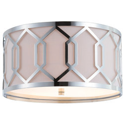 Transitional Flush-mount Ceiling Lighting by Jonathan Y Designs, INC