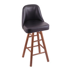 Holland Bar Stool Co Grizzly Counter Stool with Smooth Oak Legs Medium