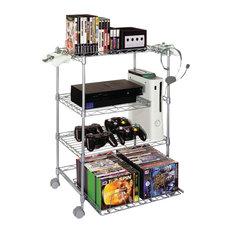 Industrial Media Storage Houzz