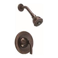Danze DH520525T H+C Waterware Merlot Shower Trim Package, Tumbled Bronze