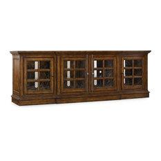 Hooker Furniture 5302-55492 92 Inch Wide Rubberwood Media Cabinet from the Bran