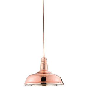 Jackman Single Copper Pendant