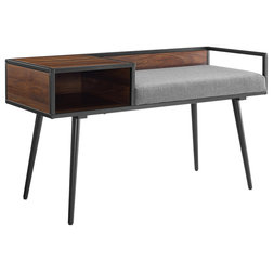 Midcentury Accent And Storage Benches by Walker Edison