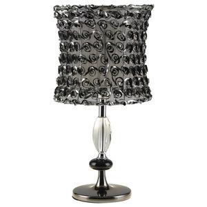 Black Rose Table Lamp