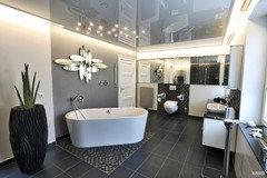 Beim Traumhaftem Bad Wird Oft Die Decke Vergessen Und Am Ende Kommt In Ein  20000 Bad Ne Gipsdecke Oder Gar Panele Rein.