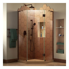 Oil-Rubbed Bronze Shower Stalls and Kits | Houzz