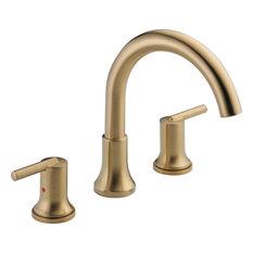 "Delta, Bathroom Fixture, Champagne Bronze, 10""x12""x1"""
