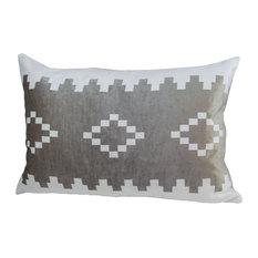 """Anna Velvet Printed Pillow, 22""""x22"""""""