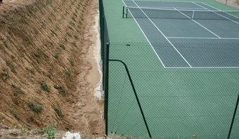 Réalisation Tennis Béton Poreux
