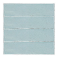 Calpe Vintage Brick Wall Tiles, Sky, Set of 22