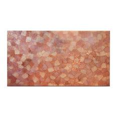 Semi Precious Stone Backlit Pink Quartzite