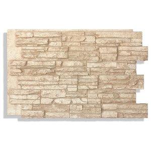 24 Quot X36 Quot Faux Stone Panels Laguna Faux Stone Cappuccino