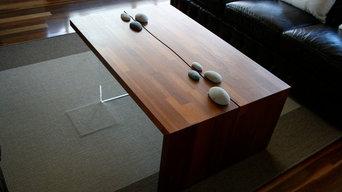 Bespoke Red Cedar Furniture Commission