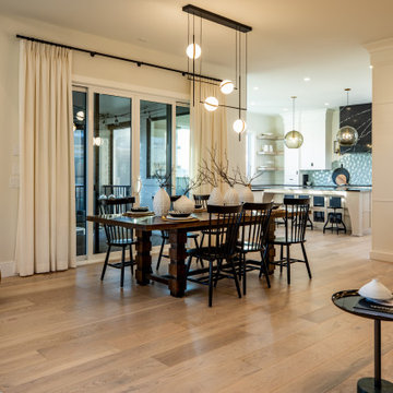 Watermark at Bearspaw   Farmhouse - Open Concept Dinning Room