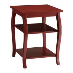 Acme Furniture   Acme Becci End Table, Red   Side Tables And End Tables