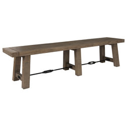 Industrial Dining Benches by Kosas