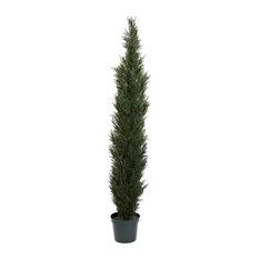 7 ft. Cedar Pine Tree in Green