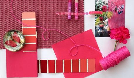 Colore del Mese: Rosa Ciclamino per Interni Inaspettati