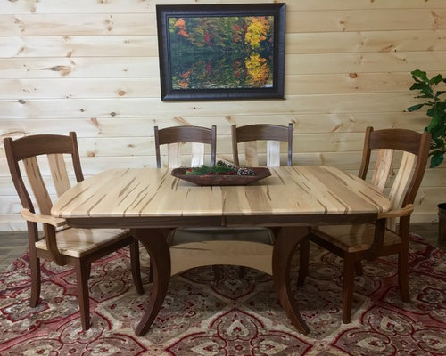 Wormy Maple Dining Table   Dining Tables