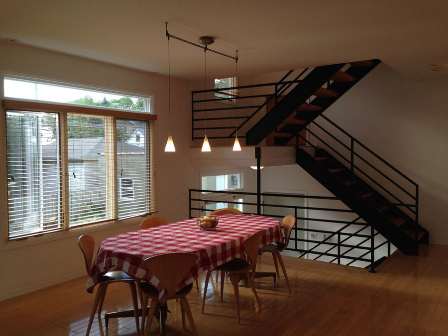 Urban Single-Family Home: Dining Room
