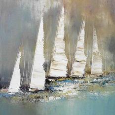- Esprit voile (2015) - Gemälde