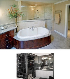 What Is The Best Natural Tile To Use For Doorless Walkin Shower
