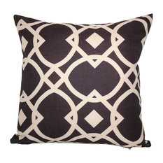 Lynxsquare Polyfill Insert Throw Pillow With Cover, White, 16x16