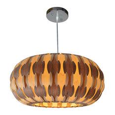 Pamela Wooden Pendant Lamp