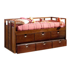 Banak Importa - Banak Importa Stick Trundle Bed With Drawers - Kids Beds