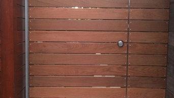 WindanSea modern gate fence