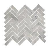 "12""x12"" Herringbone Marble Tile"