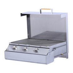Space Grill 37, 500 BTU, 443 Stainless