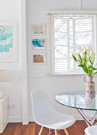 Beach Style Dining Room by Walk Among The Homes