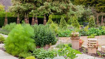 Wild flower Meadow and walled kitchen garden
