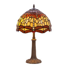 Belle Amber Series Table Lamp, Large